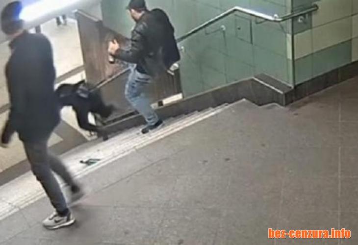 Ексклузивно!Чичо на изверга от берлинското метро се жалвал, че... Чочи го изнасилил!