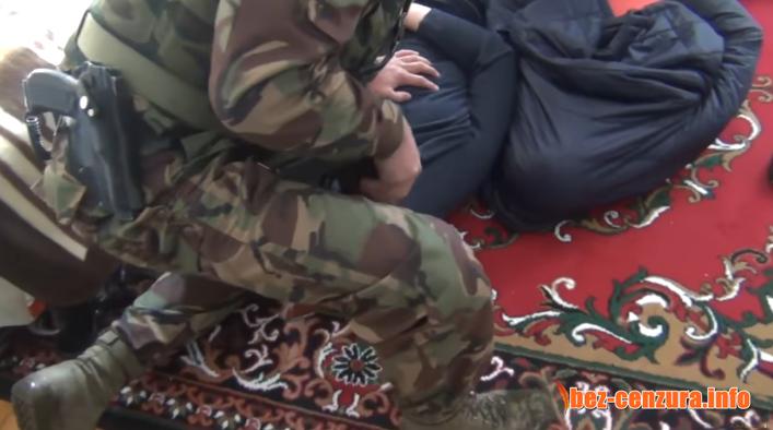 Ето как се арестуват терористите в Русия + ВИДЕО