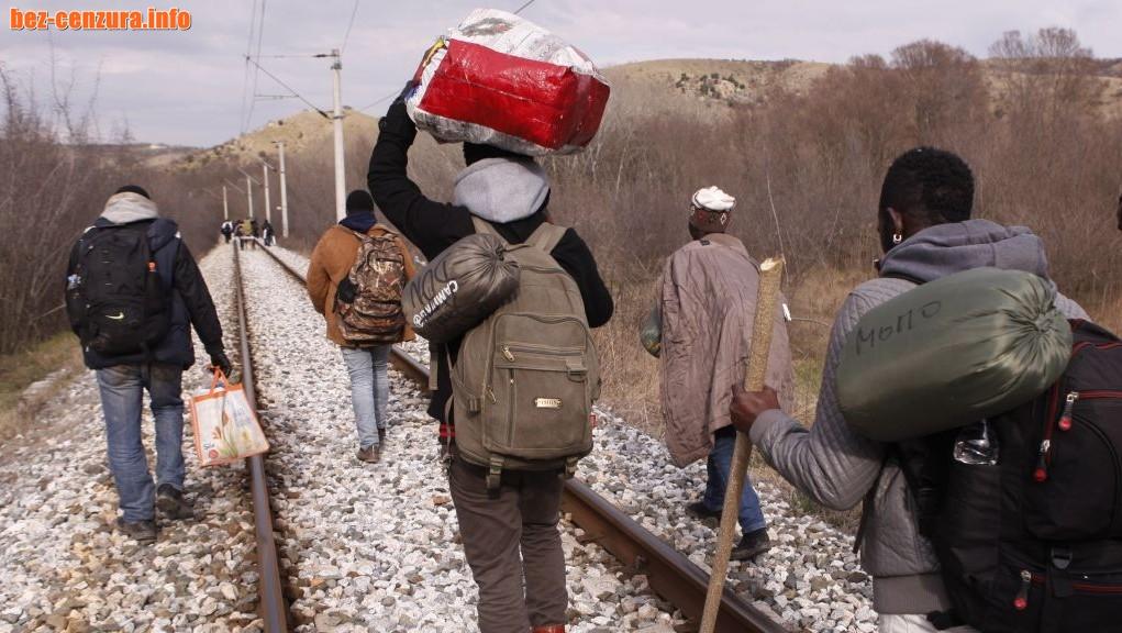 МВР е заловило 105 мигранти около Нова година
