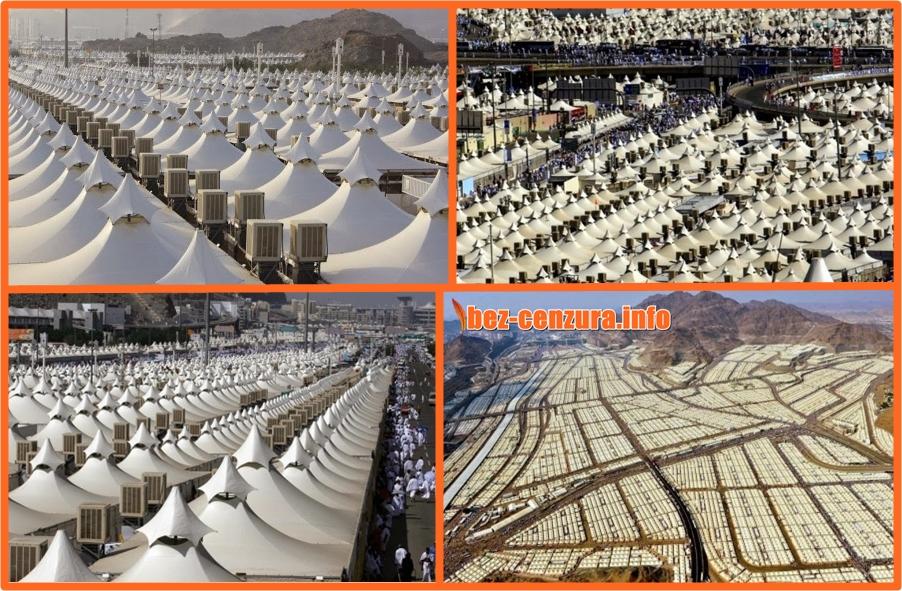 Саудитска Арабия има 100 хиляди празни палатки с климатици, не приема мигранти