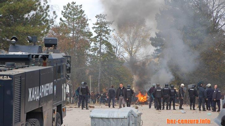 Внесоха обвинителен акт срещу афганистанеца, запалил българския флаг в Харманли