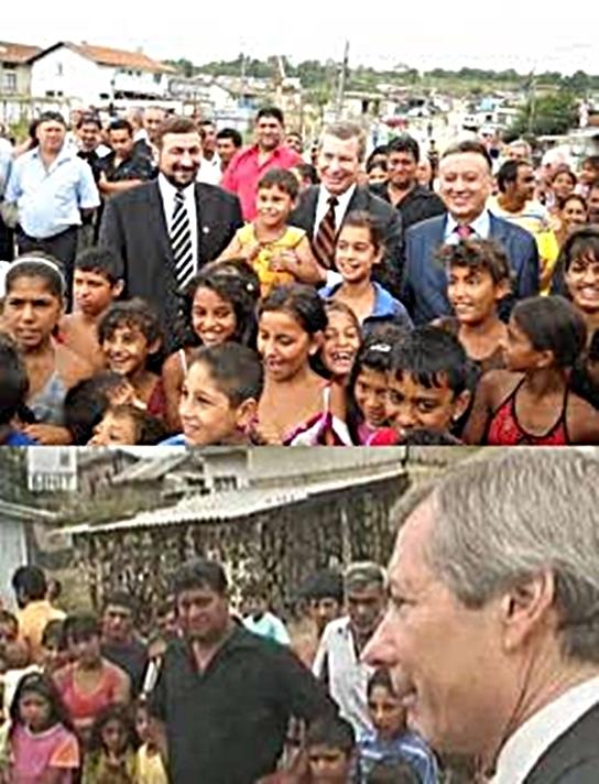 Ромите като модел на ЦРУ