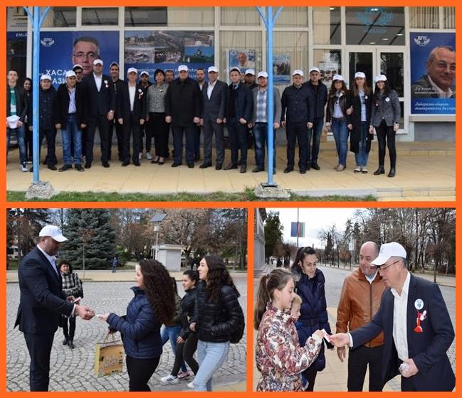 Чудо - турците от ДПС раздават мартеници