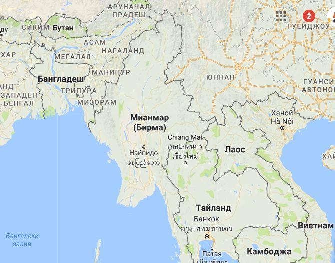 Шаолински монаси започнаха изтребление на всички мюсюлмани в Мианмар