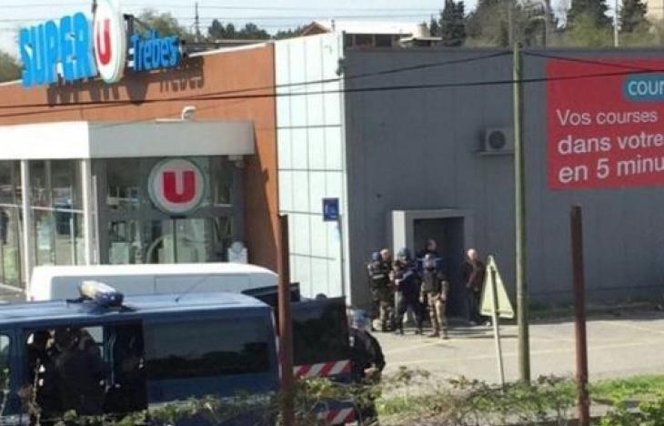 Загиналите при заложническата драма във Франция вече са трима (ВИДЕО)