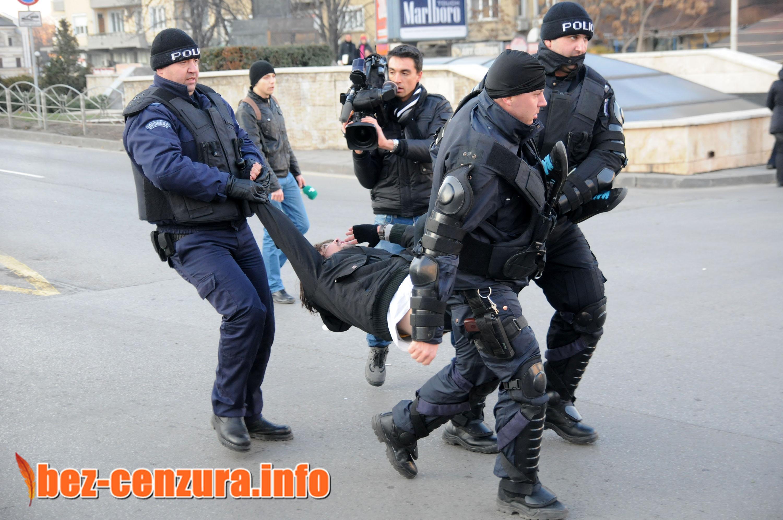 Шестима са пострадали, а трима са арестувани след масов бой в Кюстендил